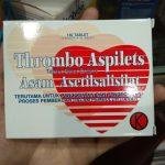 Thrombo Aspilet - Obat Dbd Menaikan Trombosit